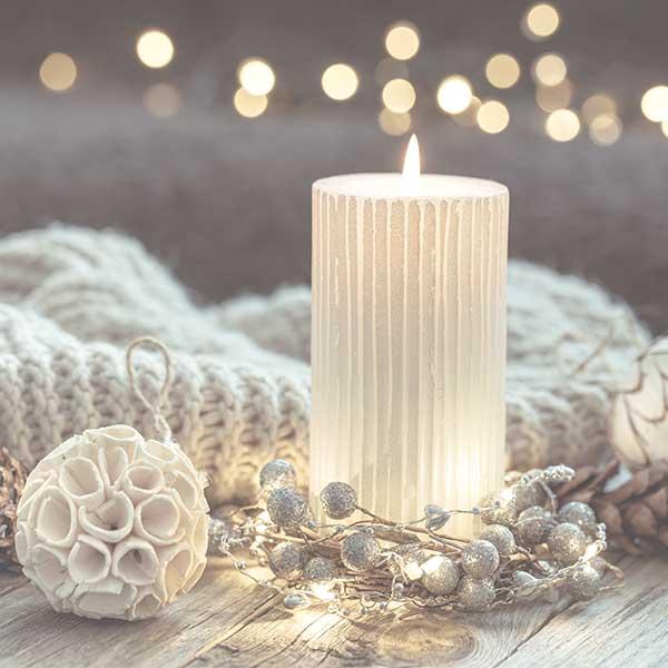 تزئینی و دکوری شمع