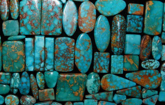 انواع سنگ های فیروزه ای