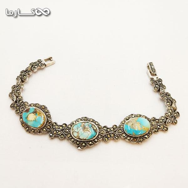 دستبند فیروزه فروشگاه کارما
